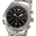 大激安!/EMPORIO ARMANI/アルマ-二/腕時計/ウォッチ/アルマ-二時計/アルマ-二、メンズ/高級腕時計新品本物取扱店/ 5250円以上で送料無料メンズ クロノグラフ BK   AR0546
