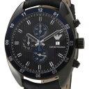 大激安!/EMPORIO ARMANI/アルマ-二/腕時計/ウォッチ/アルマ-二時計/アルマ-二、メンズ/高級腕時計新品本物取扱店/ 5250円以上で送料無料EMPOLIO ARMANI エンポリオ・アルマーニ メンズ 腕時計 ブラックレザー AR5916