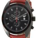 大激安!/EMPORIO ARMANI/アルマ-二/腕時計/ウォッチ/アルマ-二時計/アルマ-二、メンズ/高級腕時計新品本物取扱店/ 5250円以上で送料無料EMPOLIO ARMANI エンポリオ・アルマーニ メンズ 腕時計 レッドレザー AR5918