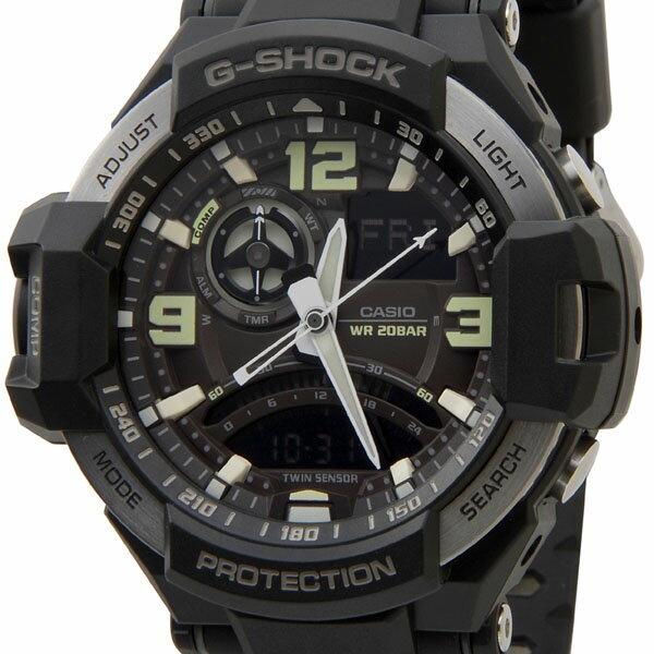 カシオ CASIO G-SHOCK Gショック GA-1000-1BDR スカイコクピット アナデジ 海外モデル ブラック メンズ 腕時計 時計