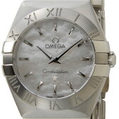 オメガ OMEGA 腕時計 123.10.24.60.05.001 コンステレーション レディース ホワイトシェル 送料無料 新品