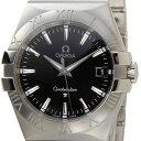 お買い物マラソン オメガ OMEGA コンステレーション ブラック 123.10.35.60.01.001 メンズ 腕時計 ブラック/シルバー 新品 送料無料 DEAL