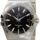 オメガ OMEGA コンステレーション ブラック 123.10.35.60.01.001 メンズ 腕時計 ブラック/シルバー 送料無料 新品