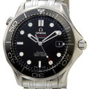 オメガ OMEGA 212.30.41.20.01.003 シーマスター ブラック メンズ 腕時計 新品 送料無料