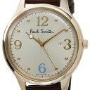 ポールスミス Paul Smith 腕時計 BC5-326-90 The City ザ・シティ シルバー×ゴールド×ブラウン 革ベルト メンズ 新品 送料無料 信頼の日本製