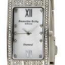 在庫処分 原価処分品(細かいキズ・汚れあり) ラメットベリー Rametto Belly レディース腕時計 ダイヤウォッチ 天然ダイヤ10ポイント腕時計 RAB2130WH 新品