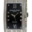 在庫処分 原価処分品(細かいキズ・汚れあり) ラメットベリー Rametto Belly レディース腕時計 ダイヤウォッチ 天然ダイヤ8ポイント腕時計 RAB2132BK 新品