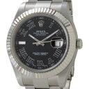 ROLEX ロレックス メンズ 腕時計 デイトジャストII ローマンインデックス 自動巻き 116334GY-R