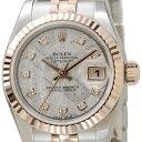 ロレックス ROLEX 179171 G-MET デイジャスト ダイヤモンド10P メテオライト×ゴールド レディース 新品 送料無料