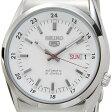 セイコー SEIKO セイコーファイブ メンズ 腕時計 SNK559J1 日本製 SEIKO5 セイコー SEIKO5 オートマティック ホワイト×シルバー 送料無料