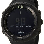 スント SUUNTO コア オールブラック メンズ 腕時計 014279010 Core All Black 新品 送料無料