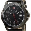 ウェンガー WENGER 70475 メンズ腕時計 ALPINE アルバイン ブラック ミリタリー アウトドア 送料無料 新品