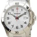 ウェンガー WENGER 70489 メンズ腕時計 ALPINE アルバイン ホワイト/シルバー ミリタリー アウトドア