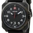ウェンガー WENGER 72424 メンズ腕時計 エアログラフコクピット ブラック ミリタリー アウトドア 時計 送料無料