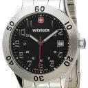 ウェンガー WENGER メンズ腕時計 フィールドグレネーダー 72966 ブラック/シルバー ミリタリー アウトドア DEAL-SP 新品 送料無料