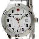 ウェンガー WENGER メンズ腕時計 フィールドグレネーダー 72969 ホワイト/シルバー ミリタリー アウトドア 時計 新品 送料無料