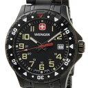ウェンガー WENGER メンズ腕時計 オフロード 79309 ブラック ミリタリー アウトドア 時計