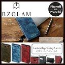 iPhone6s 手帳型カバー BZGLAM ビズグラム カ...