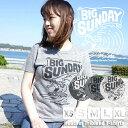 SUNDAY BEACH CRUISER サンデービーチクルーザー ヘザーTシャツ トライブレンド 大きめ 小さめ 半袖 Tシャツ サーフ 波乗り #SD102148