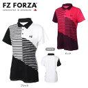 羽毛球 - FZ FORZA 302533 ゲームシャツ(レディース) バドミントンウェア フォーザ【即日出荷/ 日本バドミントン協会審査合格品】