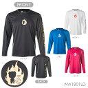 A-WIN 1801LD FIGHT 長袖 Tシャツ(ユニ/ メンズ/ ジュニア) バドミントンウェア アーウィン