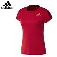 adidas DX0062 グラフィックシャツ(レディース) スカーレット バドミントンウェア アディダス【クリックポスト可/取り寄せ】の画像