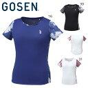 GOSEN T1963 レディースゲームシャツ テニス・バドミントンウェア(レディース) ゴーセン 2019FW