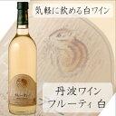 丹波ワイン フルーティ 白 720ml