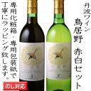 丹波ワイン 鳥居野 赤白2本セット【楽ギフ_包装】