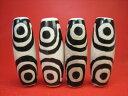 【チベット天珠】四眼天珠40×14±1mm