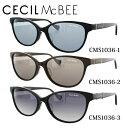 ショッピングメガネ セシルマクビー サングラス CECILMcBEE CMS1036 全3カラー 56サイズ アジアンフィット レディース 女性用 アイウェア UVカット 紫外線対策 UV対策 おしゃれ ギフト