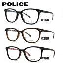 ポリス POLICE メガネ フレーム 眼鏡 度付き 度なし 伊達 アジアンフィット VPL664J 全3カラー 51サイズ ウェリントン型 UVカット 紫外線 【国内正規品】