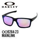 オークリー サングラス スポーツサングラスOAKLEY OO9264-23 MAINLINKPolished Black/Prizm Golf レディース メンズ