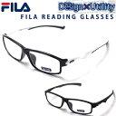 老眼鏡 FILA スポーティーデザイン リーディンググラス シニアグラス メンズ おしゃれ