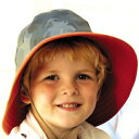 UVカット 帽子(子供用) - キッズ ハット- リバーシブ...