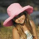 キッズ ハット 女の子 UVカット 帽子 つば広 ハット ライトピンク キッズ 帽子 子供 女子 女児 UV対策 小学生 通学 通園 サイズ調整可 帽子 こども 子供用 夏 ピンク 52cm〜54cm(目安:4歳〜8歳)