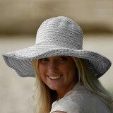 UVカット帽子 ☆ 紫外線対策 UV 大きい帽子 つば広 帽子 UV対策 レディース ハット オーストラリア皮膚癌財団認定 UVカット率最高値UPF50+ 【10P13oct13b