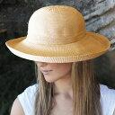 UVカット 帽子(女性用) - レディース ハット - シルエットスタイル レデイース ladies レディス 夏 uv ウィメンズ カラー:ベージュ※紫外線カット(UVカット)最高値UPF50+ 母の日 ギフト