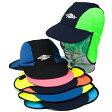 UVカット 帽子(子供用) - キッズ KIDS キャップ 子供 子ども 帽子 ※紫外線カット(UVカット)最高値UPF50+