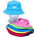 【紫外線対策先進国オーストラリアから直輸入!】 UVカット 帽子(子供用) - キッズ リバーシブ...
