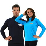 UVカット 水着 メンズ レディース ユニセックス(男女兼用) ラッシュガード 長袖(大きいサイズ・プラスサイズ・ラージサイズ・キングサイズ)※紫外線カット(UVカット)最高値UPF50+