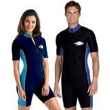 UVカット 水着 メンズ レディース ユニセックス(男女共用) スイムウェア スイムスーツ つなぎ フィットネス 水着※紫外線カット(UVカット)最高値UPF50+