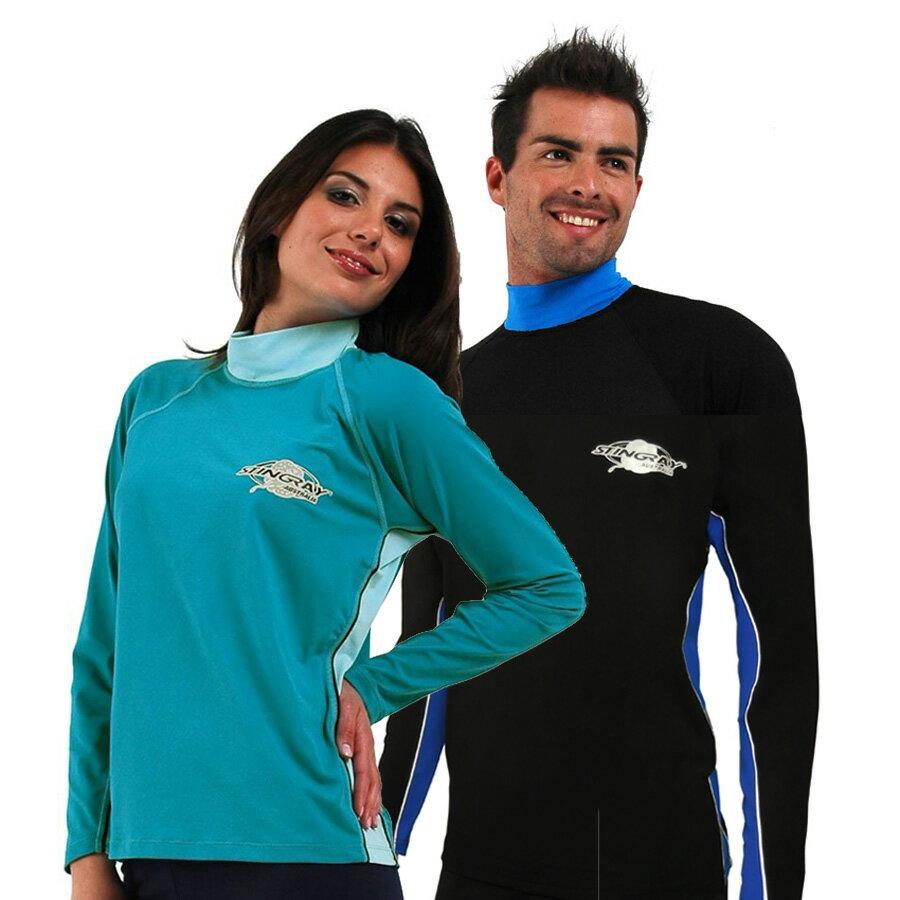 UVカット 水着 - メンズ レディース ユニセックス(男女共用) ラッシュガード 長袖※UVカット(紫外線カット)最高値UPF50+