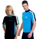 UVカット 水着 メンズ レディース ユニセックス(男女共用) ラッシュガード 半袖※紫外線カット(UVカット)最高値UPF50+