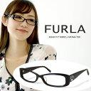 フルラ メガネ FURLA 眼鏡 VU4764j 700【ジャパンフィット モデル】ブラック UVカットレンズ付き/ レディース 女性用 /