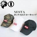 NESTA BRAND ネスタブランド ボックスロゴ ローキャップ 182NB8700【あす楽対応】【あす楽_土曜営業】【帽子 CAP】