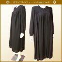 SunLook日本製【送料無料・卸】ブラックフォーマルワンピース*たっぷりギャザーワンピースの女性礼服・喪服