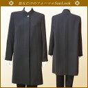 《新商品》日本製【送料無料・卸】スタンドカラーのブラックフォーマルコート*女性礼服・喪服
