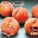 がんばろう福島!皇室献上の桃をお届け。JAふくしま未来特選白桃ミスピーチ秀品 約5kg(約16〜24玉)【送料無料】