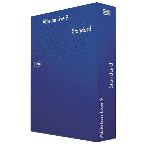 ABLETON LIVE 9 STANDARD パッケージ版 通常版 2017年1月11日までのHSP16セール!